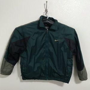 Vintage Nike windbreaker dark green